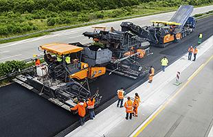 Комплексное и капитальное строительство дорог